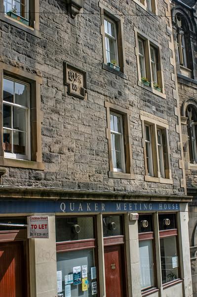Edinburgh, Scotland<br /> Built originally as a chapel for the United Original Secession Church (Paterson & Shiells 1865), it became a Quaker Meeting House in 1987.