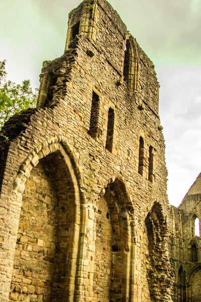 Wenlock Priory, Wales<br /> Wenlock Priory, Wales