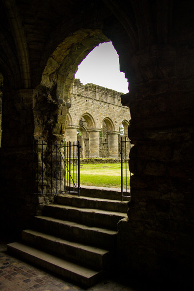 Buildwas Abbey, Wales<br /> Buildwas Abbey, Wales