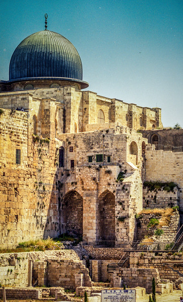 Jerusalem, Israel<br /> The Al-Aqsa Mosque.