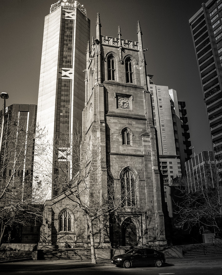 Sydney, Australia<br /> St Philips Church, York St. This is the second church on this site, built 1848-'56 to a design by Edmund Blacket.