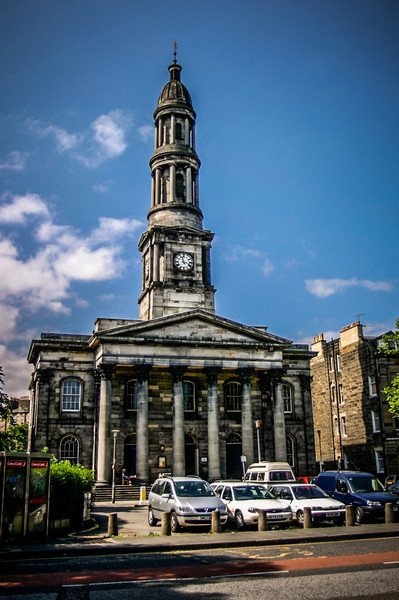 Edinburgh, Scotland<br /> Broughton St. Mary's Parish Church.