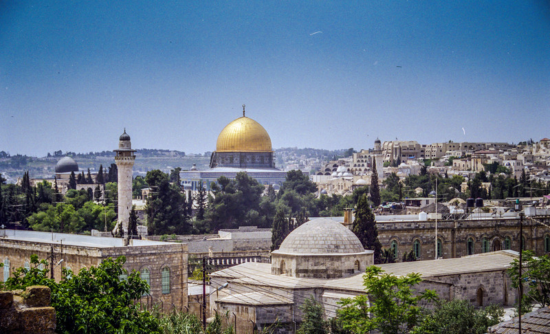 The Dome of the Rock, Temple Mount.