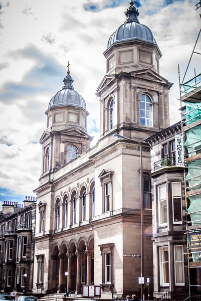 Edinburgh, Scotland<br /> Palmerston Place Church, 1875.