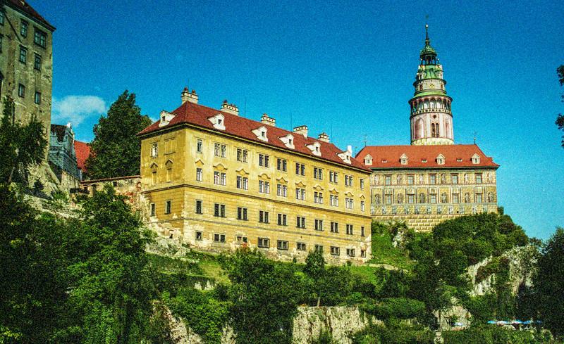 Český Krumlov Castle, dating to 1240.