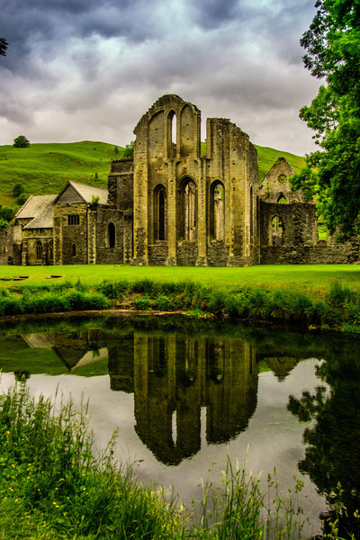 Valle Crucis Abbey, Wales<br /> Valle Crucis Abbey, Wales