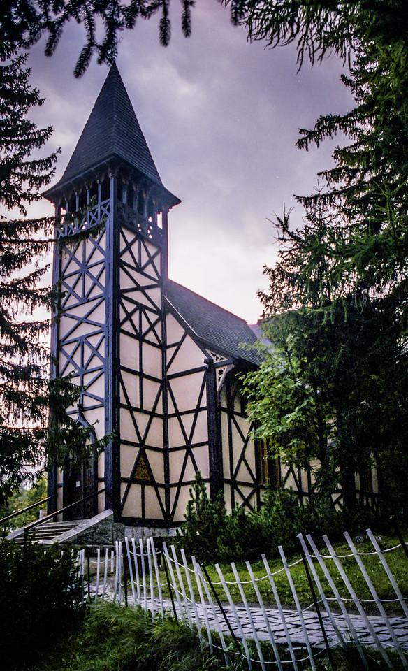 Starý Smokovec Church.