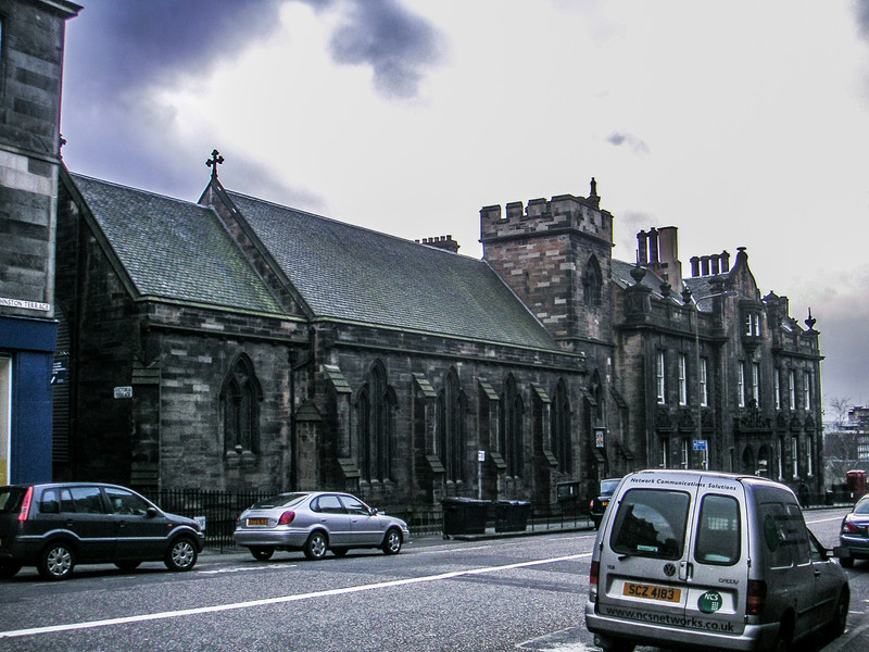 St. Columba's-by-the-Castle on Johnston Terrace.