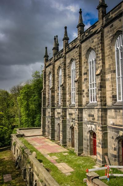 Edinburgh, Scotland<br /> The Holy Trinity Church, built in 1838.