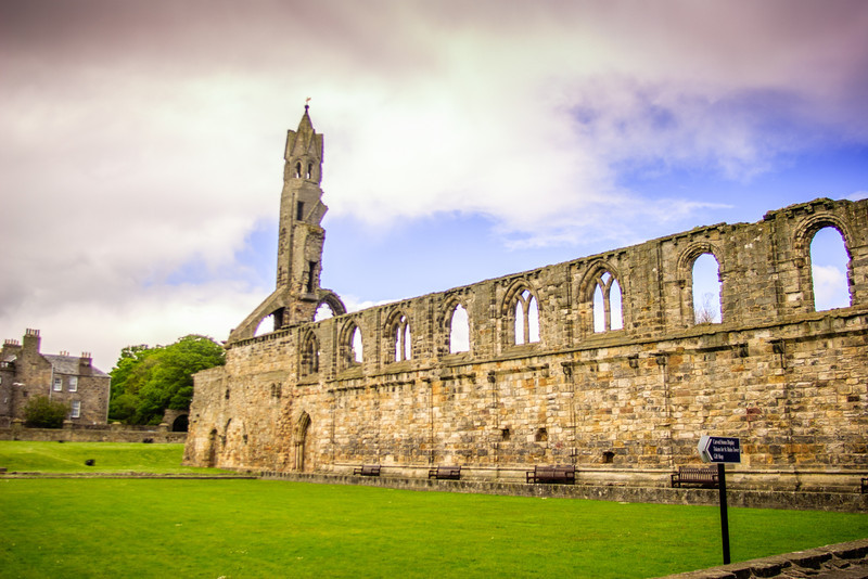 St Andrews Cathedral, Scotland<br /> St Andrews Cathedral, Scotland