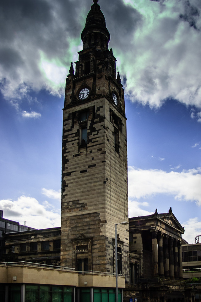 Glasgow, Scotland<br /> Glasgow City Free Church, 1859.