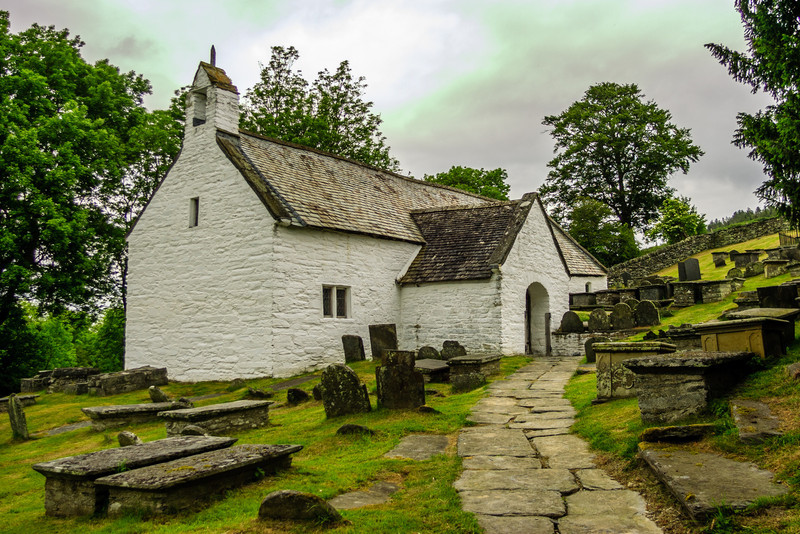 Llangar Church, Wales<br /> Llangar Church, Wales