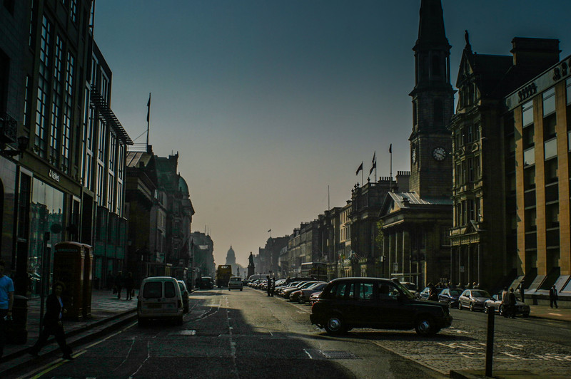 Edinburgh, Scotland<br /> George St.