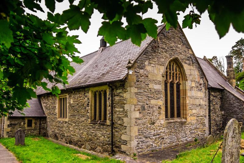 Llantysilio Church, Llangollen, Wales<br /> Llantysilio Church, Llangollen, Wales