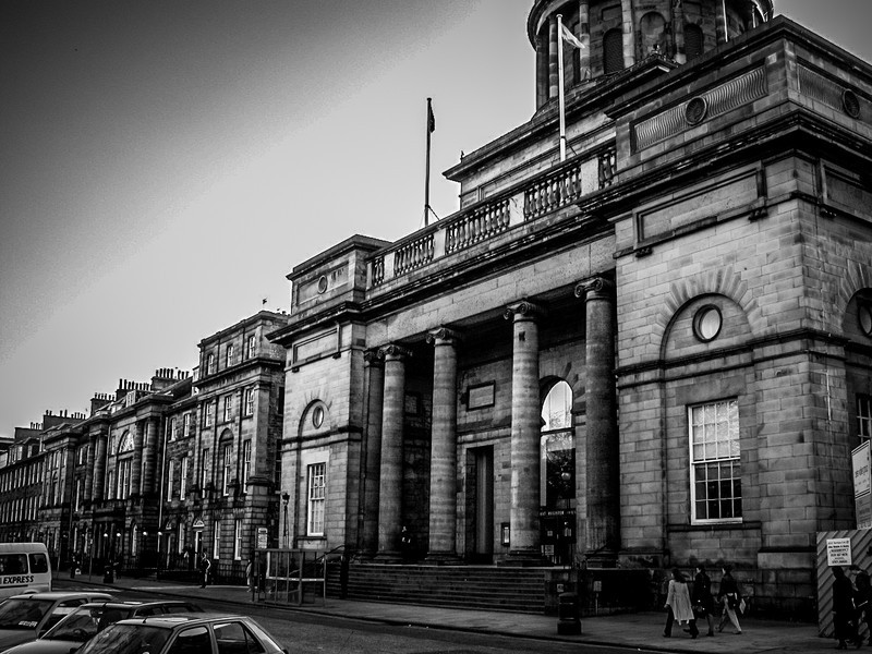 Edinburgh, Scotland<br /> West Register House, originally built 1811 as St George's Church to a design by John Adam. In 1964 it was taken over by the Scottish Record Office, now known as the National Archives of Scotland.