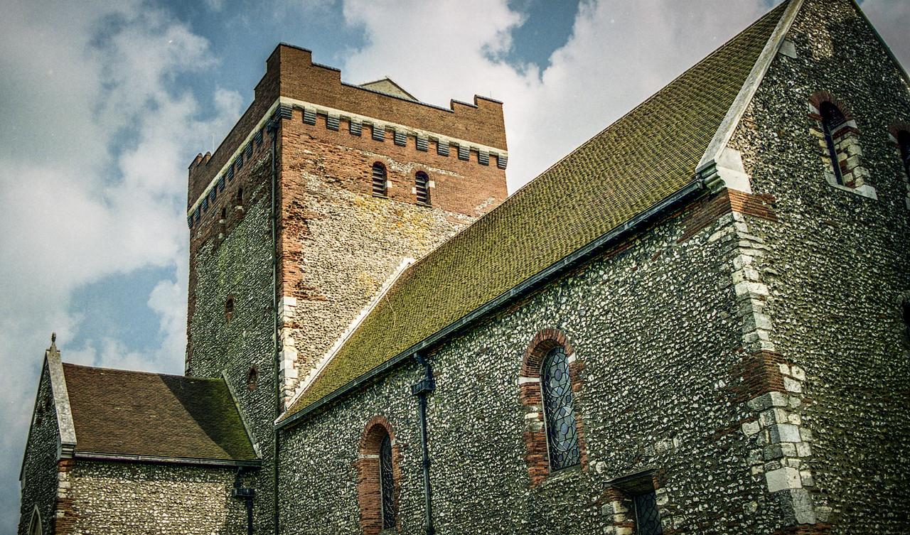 Dover, England<br /> St Mary in Castro, Dover Castle.