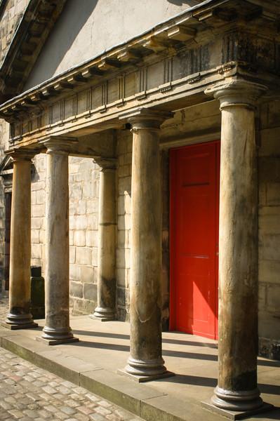 Edinburgh, Scotland<br /> Canongate Kirk.
