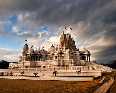 BAPS Shri Swaminarayan Mandir Temple in Lilburn, GA,