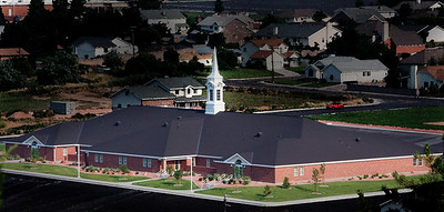 LDS church in Ceder City, Utah