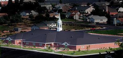 LDS church in Ceder City, Utah