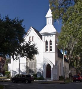 Historical church in Savanna, GA
