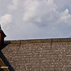 Bible quote on the roof - A sanctuary he is the god of ancient times - approximated translation