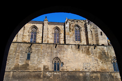 Barcelona, Spain:  Cathedral, exterior