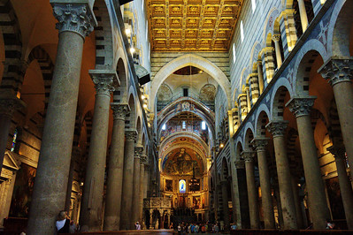 Pisa, Italy:  Cathedral, interior
