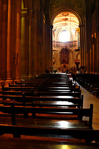 Lisbon, Portugal:  Cathedral, interior