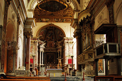 Amafli, Italy:  Cathedral, interior