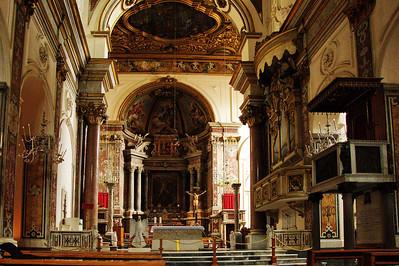 Amafli, Italy:  Cathedral, interior