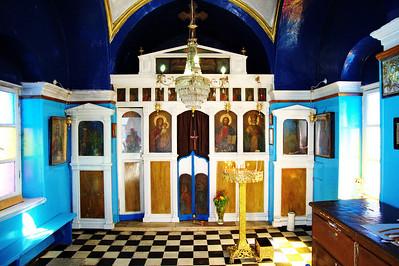 Mykonos, Greece:  Greek Orthodox Church, interior
