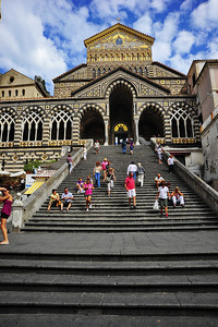 Amalfli, Italy:  Cathedral, exterior