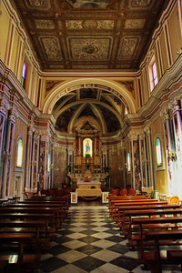 Sorrento, Italy:  Cathedral, interior