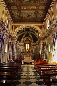 Sorrento, Italy:  Cathedral, interior