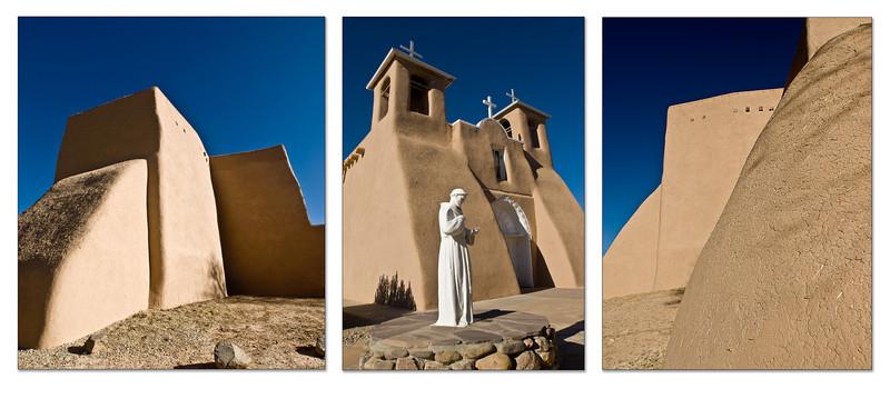 St Francis de Asis Triptych2