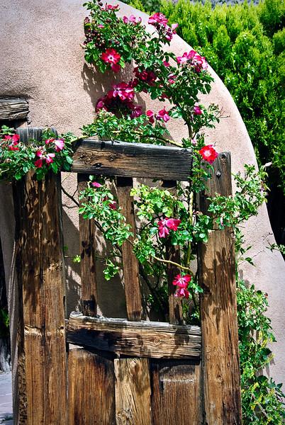 Chimayo Santuario Gate