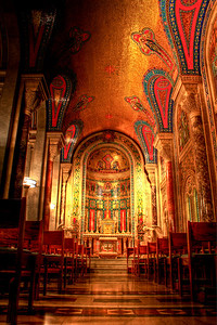 The Cathedral Basilica of Saint Louis / Blessed Sacrament Chapel