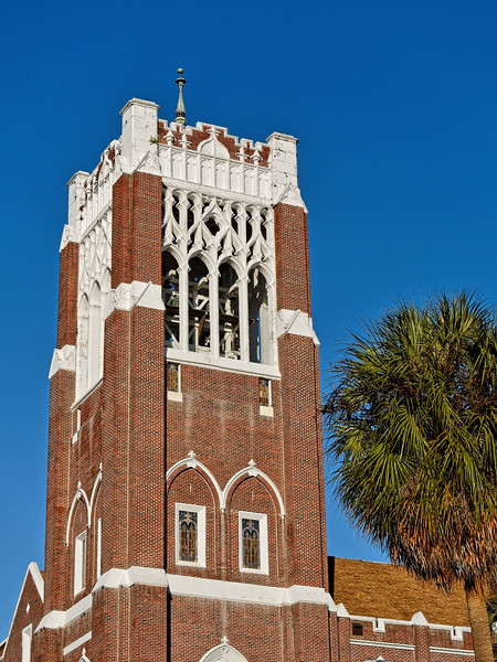 Bell Tower of First Methodist Church