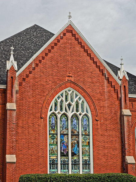 Hay Street Methodist Church Stained Glass