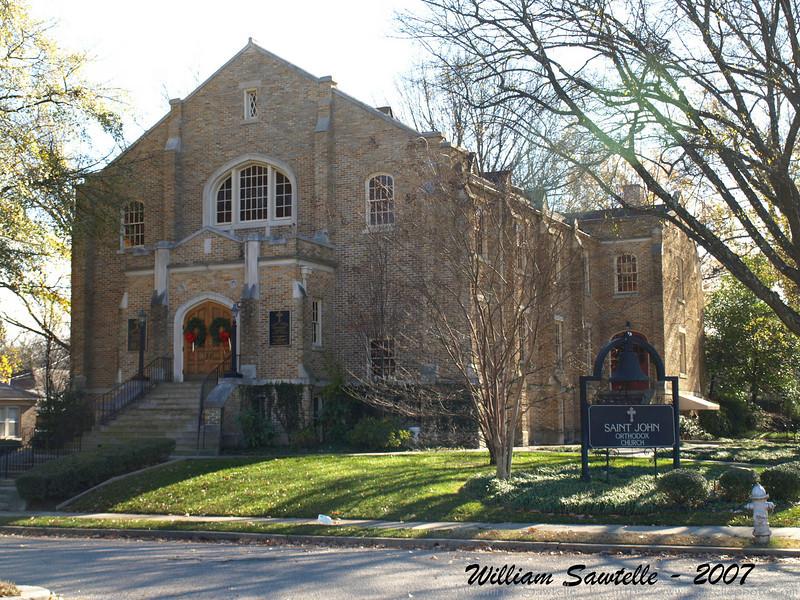 Saint John Orthodox Church<br /> The building was originally Lindsay Memorial Presbyterian Church.