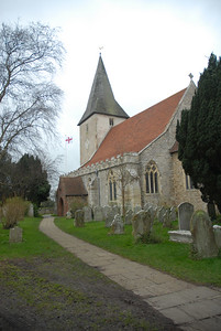 Bosham Church, January 2007