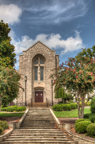 "<h3 style=""text-align: left;""><strong>Today's Photo:  St. Mary's Catholic Church</strong></h3> <strong></strong>Today is Sunday, so it must mean a church photo, right?  No fair, I'm sure you saw the photo first.  I found this church in Rome, Georgia.  I had to stop for a second in the turn lane to get this shot, but I think it turned out pretty good for an off the hip shot.  I m planing on going back to Rome soon for a photo trip.  I think this may be one of those churches I stop by and ask to get some inside photos.  This is the only church I got photos of from downtown.  Downtown Rome is for a Church photographer what the military would call a ""Target Rich Environment"", so I can't wait to make it back.  Read more at the <a href=""http://justshootingmemories.com"">Daily Photography Blog</a> Just Shooting Memories!..."