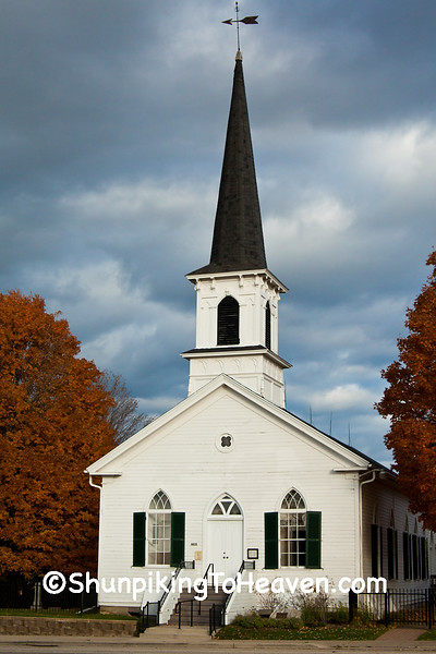 First Lutheran Church, Built 1866, Dane County, Wisconsin