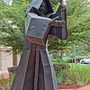 Benedictine Monk Statue at St. Leo University