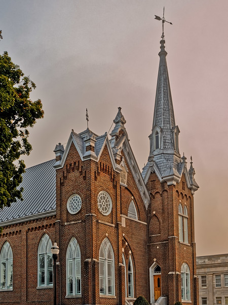 1889 First Methodist Church McMinnville