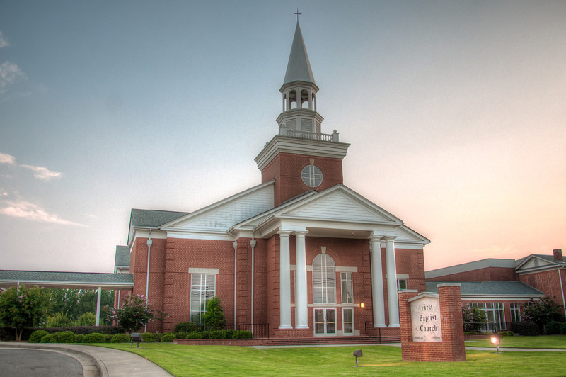 "<h3 style=""text-align: left;""><strong>Today's Photo:  First Baptist Church Jasper</strong></h3> <strong></strong>Is it Sunday again?  This week has flown by, but each day felt like it just crept along.  This is another shot for my Sunday series on Churches.  This one is in downtown Jasper Georgia.  I was in a little bit of a hurry, so I did not have a chance to get out of the car for this shot.  Thankfully there was not much traffic and I was able to get it pretty quickly.  Read more at the <a href=""http://justshootingmemories.com"">Daily Photography Blog</a> Just Shooting Memories!..."