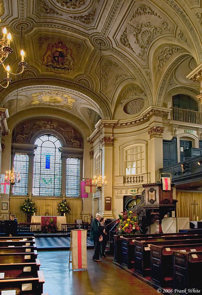 Chapel of St  Martin's of the Fields, London, UK