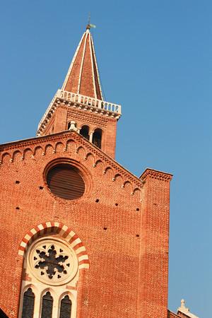 Italy, Verona, Church Spire