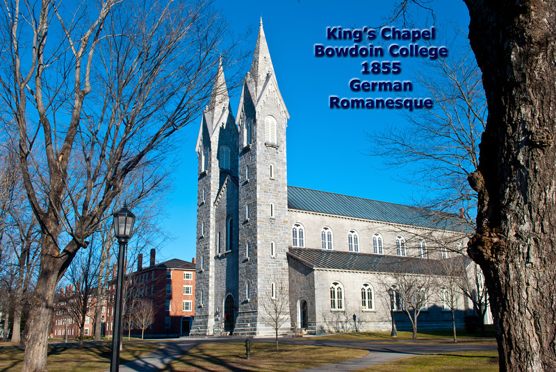 King's Chapel, Bowdoin College